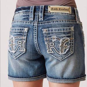 NWT Rock Revival Faine Easy Short Women's Size 26
